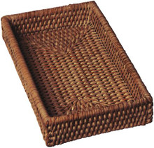 Rattan Guest Towel/Napkin Holder