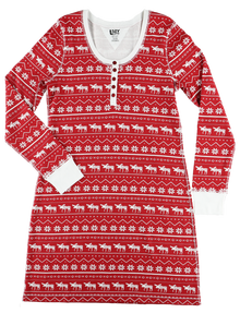 Nordic Moose Nightshirt - SALE