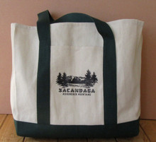 Sacandaga Canvas Tote Bag