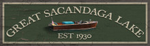 Great Sacandaga Lake Sign