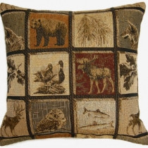 Blue Hills Tapestry Pillow