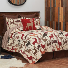 Deer Country Quilt Set