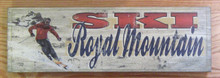 Ski Royal Mountain Sign
