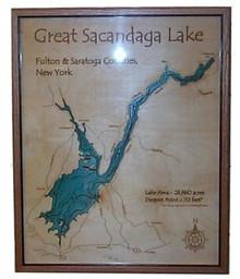 Wood Cut Lake Map