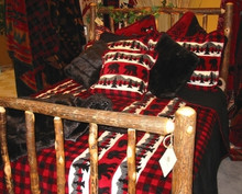 Black Bear Bedding & Throw