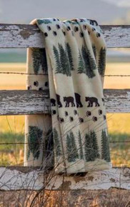Pearl Denali Bear/Sage Throw