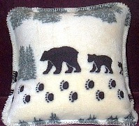 Denali Bear Pillow