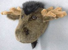 Plush Moose Head