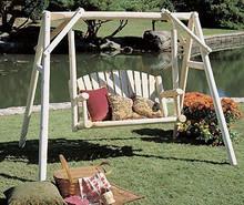 Cedar Rustic Swing