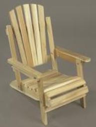 Child's Cedar Adirondack Chair