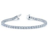 Four Prong Classic Style Tennis Bracelet