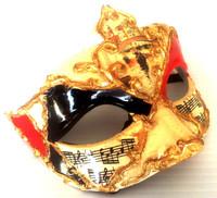 Half Mask Face Designs Mardi Gras Halloween Costume Accessory Adult Men Women