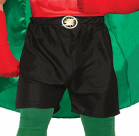 """Create Your Own Super Hero Adult Costume Accessory Boxer Shorts Up To 34"""" Waist"""