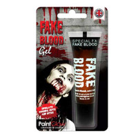 Paint Glow 10ml Fake Blood Gel Special Fx Halloween Make Up Wounds Cuts Bites