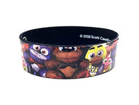Five Nights at Freddy's Wristband Bracelet Costume Jewelry Plushie Allover