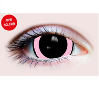 Primal Costume Contact Lenses Costume Acid I Pink Cosplay Make-up Anime Stoned