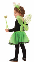 Dress Up Girls Green & Black Skirt Petticoat Tutu Child Ballet Costume Accessory