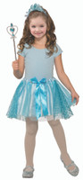 Blue Princess Kit Crown Headband Wand Tutu Kids Girls Costume Accessory 4-6