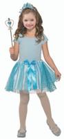 Blue Princess Kit Crown Headband Wand Tutu Kids Girls Costume Accessory 4-6