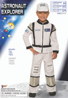 Astronaut Explorer Child Halloween Costume Spaceman Outer Space Travel SM-LG