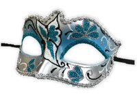 Glitter Butterfly Half Eye Fancy Mask Venetian Masquerade Costume Accessory D