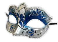 Glitter Butterfly Half Eye Fancy Mask Venetian Masquerade Costume Accessory C