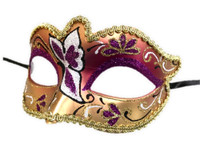 Glitter Butterfly Half Eye Fancy Mask Venetian Masquerade Costume Accessory B