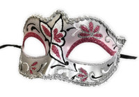 Glitter Butterfly Half Eye Fancy Mask Venetian Masquerade Costume Accessory E