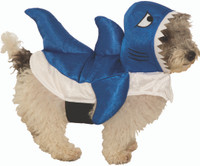 Blue Baby Shark Pet Costume Petwear Dog Cat Halloween Sharknado Small Medium