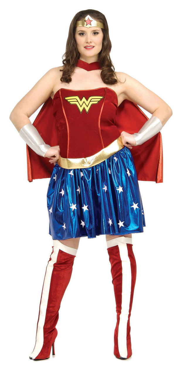 87d72e7a0bd Womens Wonder Woman Sexy Corset Fancy Dress Halloween Party Theme Costume
