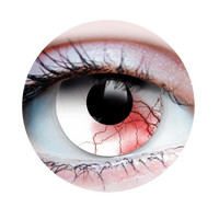 Primal Costume Contact Lenses Costume Undead Bloodshot Cosplay Make-up Anime