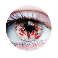 Primal Costume Contact Lenses Costume Blood Shattered Glass Cosplay Make-up