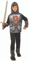 Valiant Knight Of The Dark Kingdom Kid's Halloween Costume Medieval Boy's SM-LG