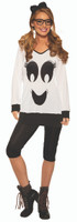 Ghostie Girl Cute Ghost Boo Women's Halloween Casual Costume Shirt & Legging STD