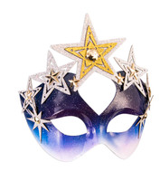 Celestial Stars & Night Sky Masquerade Mask Glasses Magical Costume Accessory