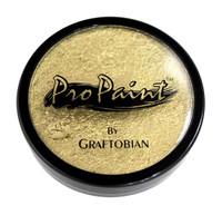 Graftobian ProPaint Professional Face Body Paint Pro Makeup Metallic Gold 1oz