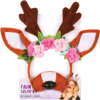 Faun Selfie Kit Snapchat Filter Photo Booth Prop Character Costume Accessory