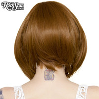 Rockstar Quality Long Sleek Bob Medium Brown Blend Wig Heat Stylable Lace Front