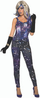 Celestial Galaxy Adult Leggings Halloween Costume Accessory Women's Stars & Moon