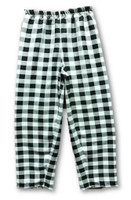 Black White Checkered Pants Adult Costume Accessory Unisex Clown  Small/Medium