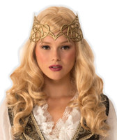 Details about  Women's Medieval Fantasy Silver Crown Renaissance Princess Queen Costume Acces.