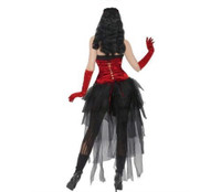 Demonique D Vil Halloween Costume Gothic Demon Devil Women Burlesque Diva Medium