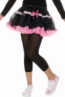 Music Legs Girls Opaque Leggings Black Children Nylon Costume Tights SM-XL