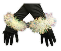 Iridescent Angel Halo Headband & Bracelet Cuffs Adult Child Costume Accessory #2