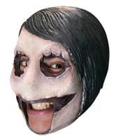 Killer Jeff CREEPYPASTA Open Mouth Adult Latex Mask Halloween Horror Psycho