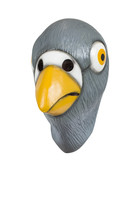 Cartoon Pigeon Adult Latex Mask Comical Funny Creepy Bird Costume Accessory New