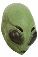 Area 51 Latex Mask Astrik Alien UFO Space Invader Extra Terrestrial Adult Sci Fi