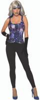 Celestial Galaxy Adult Corset Halloween Costume Accessory Women's Galactical