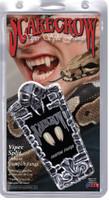 Scarecrow Deluxe Viper Split Custom Vampire Fangs Adult Halloween Costume Access