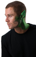 Green Space Ear Tips Latex Make Up Outer Space Halloween Alien Costume Accessory